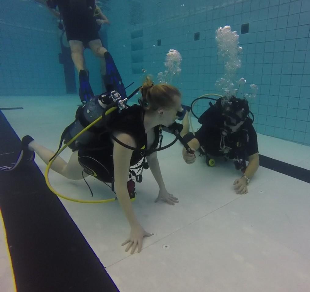 Initiatie duik